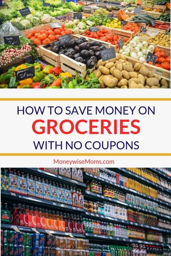 Save Money on Groceries with No Coupons