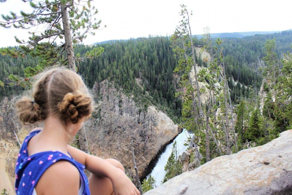 Yellowstone Falls - family travel