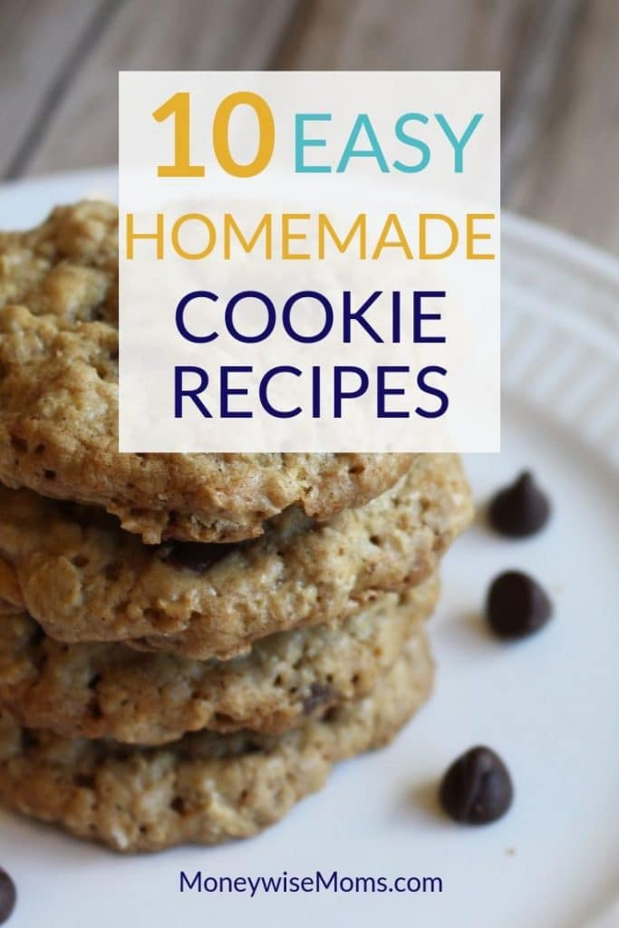 10 easy homemade cookie recipes