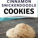 Cinnamon Snickerdoodle Cookie Recipe - old fashioned cookies