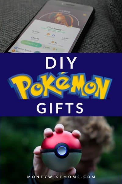 DIY Pokemon Gifts for Big Fans
