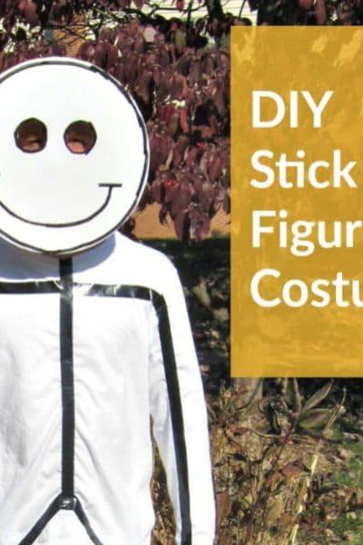 Make a DIY Stick Figure Costume for Halloween