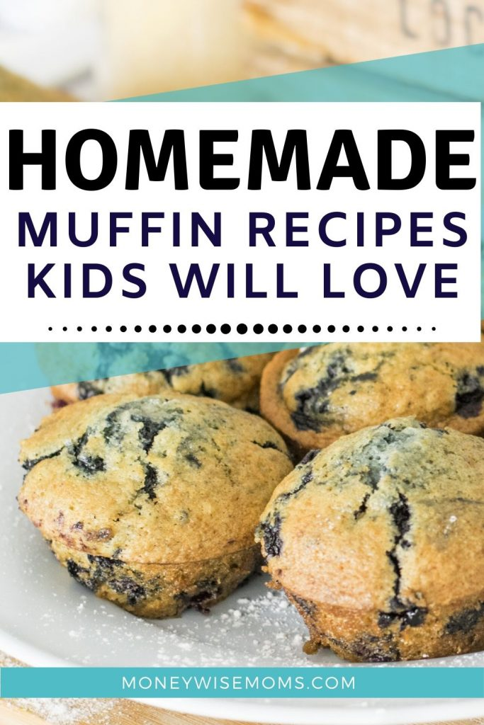 Homemade Muffin Recipes that kids will love