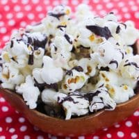 Peppermint Popcorn Bark Recipe