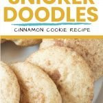 The best snickerdoodles cookie recipe - cinnamon cookies