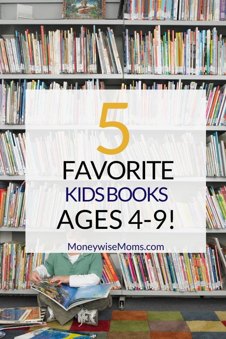 As I mentioned yesterday in 5 Favorite Kids books for 2-6 year olds, I'm often asked what's a good book for certain ages. I still have quite a collection of chapter books from my years as an elementary teacher, but I'm enjoying reading newly published books with my son as he's become an avid reader. Here are some of my family's favorites: