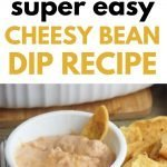 Easy Cheesy Bean Dip Recipe for Parties