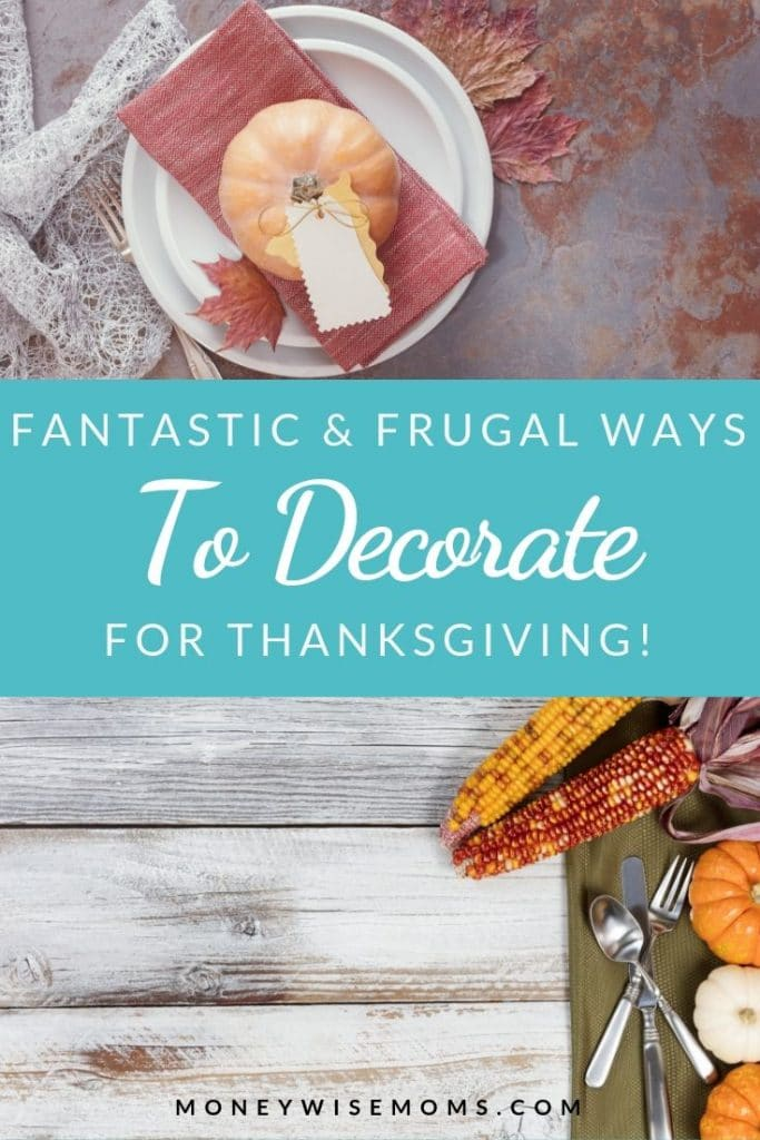frugal thanksgiving decorations