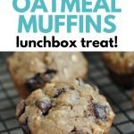 Banana Oatmeal Muffins for lunch boxes or after school snacks