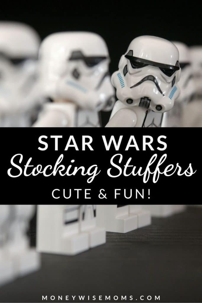 Do you have a Star Wars fan in your house? Whether you're shopping for kids or adults, they will love these Star Wars Stocking Stuffers.