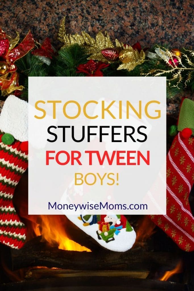 "The tween age group is ""in between,"" so they can be tough to shop for. Try these Stocking Stuffers for Tween Boys."