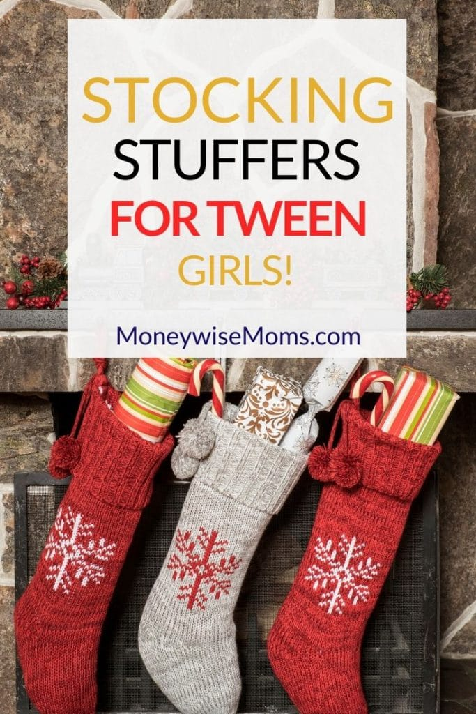 "Shopping for tweens can be tough, since it's an ""in between"" age. Take a peek at these great stocking stuffers for tween girls."