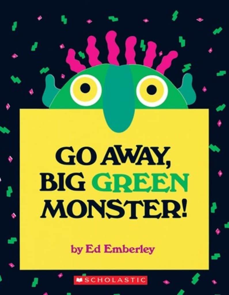 Go Away Big Green Monster book - gift ideas