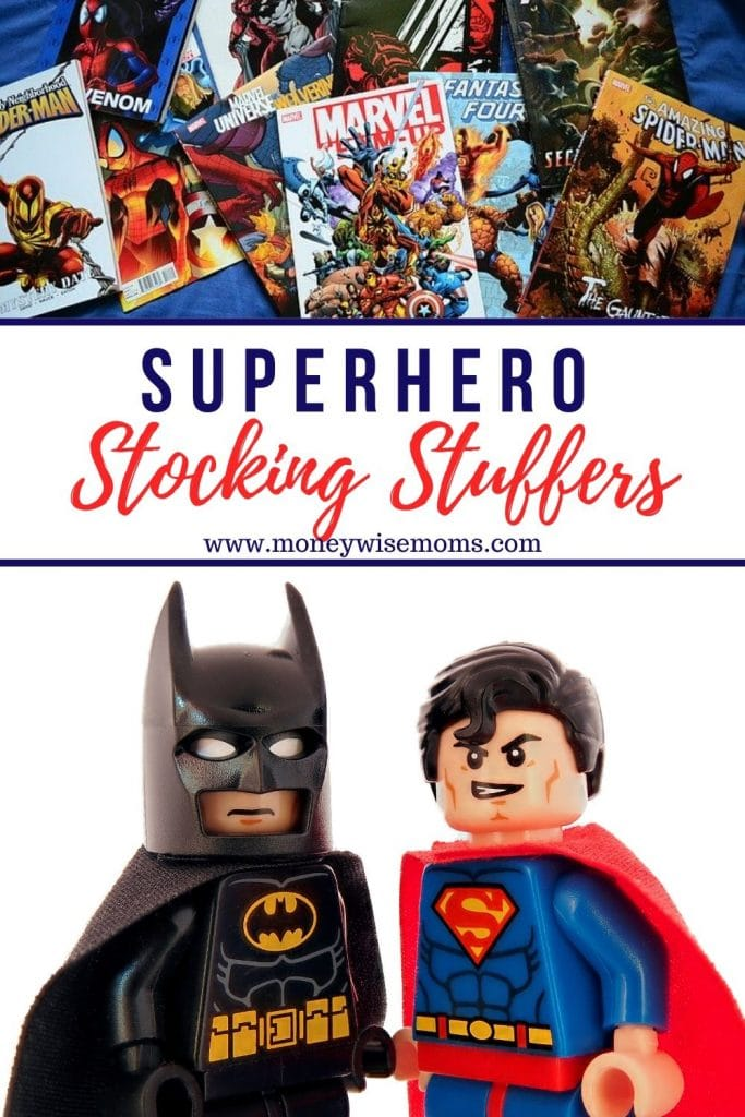 these Superhero Stocking Stuffers are just what you need to finish off that shopping list!