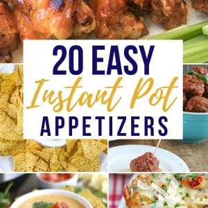 Easy Appetizer Recipes in the Instant Pot