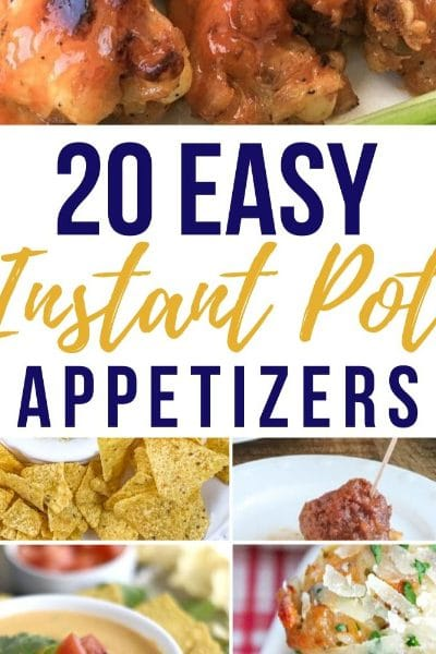Instant Pot Appetizers for Game Day