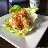 Instant Pot Buffalo Chicken Lettuce Wraps