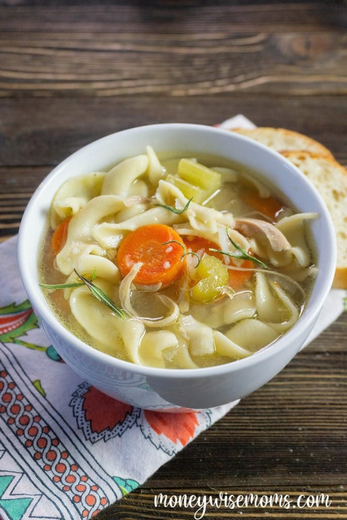 Making Instant Pot chicken noodle soup is easy, quick, and delicious. I'll show you how to make pressure cooker chicken noodle soup that the whole family will love.