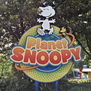 Kings Dominion Planet Snoopy for kids