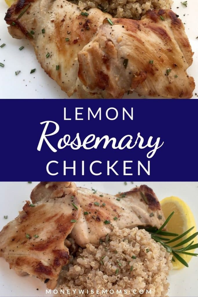 Easy Rosemary Lemon Chicken