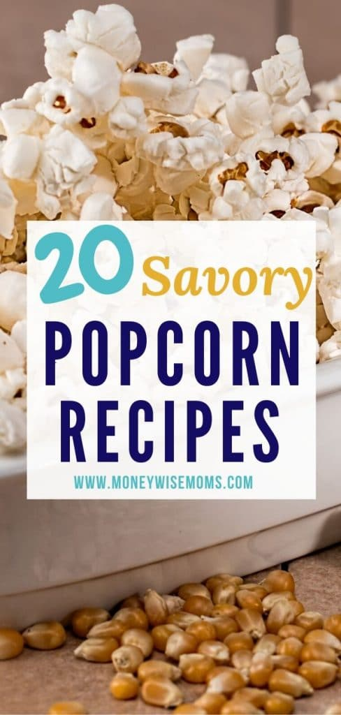 Savory Popcorn Recipes to make at home