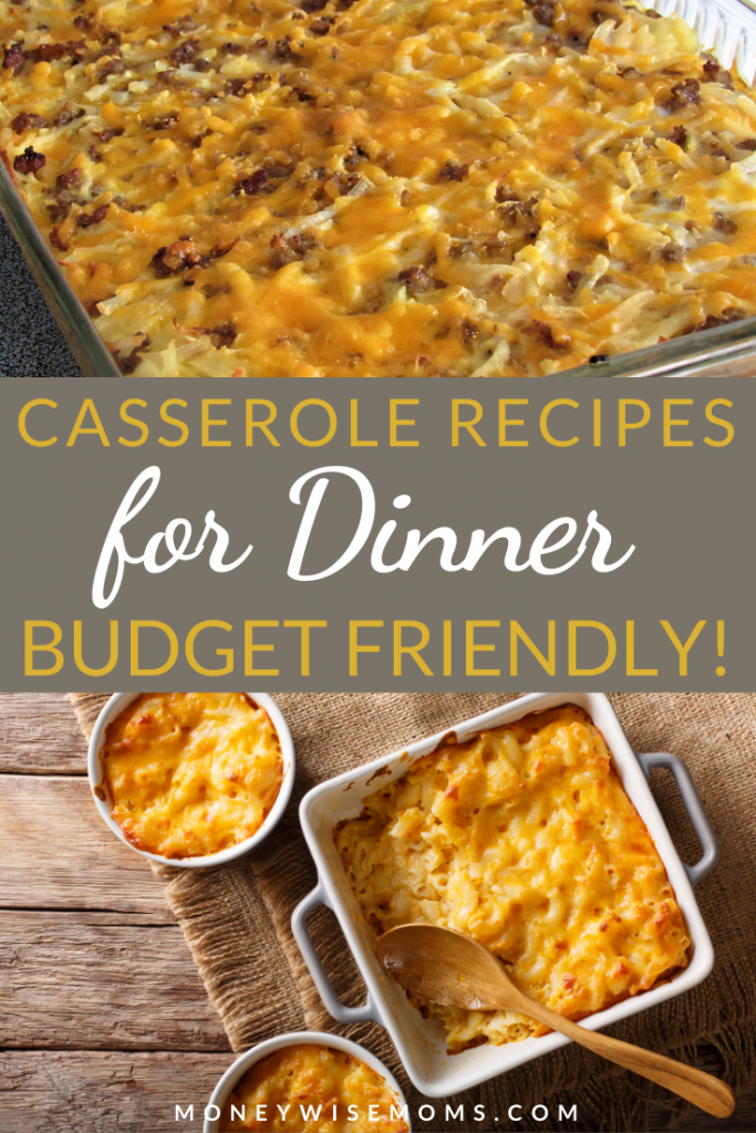 These budget casserole recipes for dinner are great for anyone who needs to feed a family while sticking to a budget. These casserole recipes for dinner will also help you meal prep!