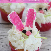 Easter Bunny Cupcakes Recipe