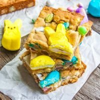Easter Candy Blondies