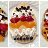 Easter Egg Pancakes - Easy Easter Breakfast