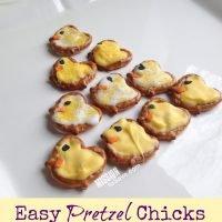 Easy Pretzel Chicks Recipe