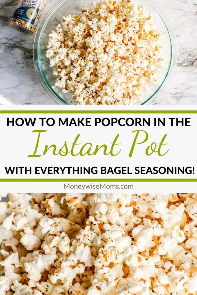 Learn how to make popcorn in the Instant Pot with just a few ingredients