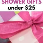 Adorable baby shower gifts under 25 dollars each