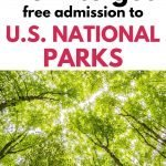 How to get free admission to US National Parks