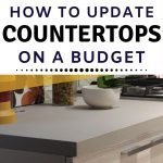 Budget home improvement tips for new to you kitchen countertops