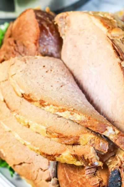 The Easiest Crockpot Ham Recipe