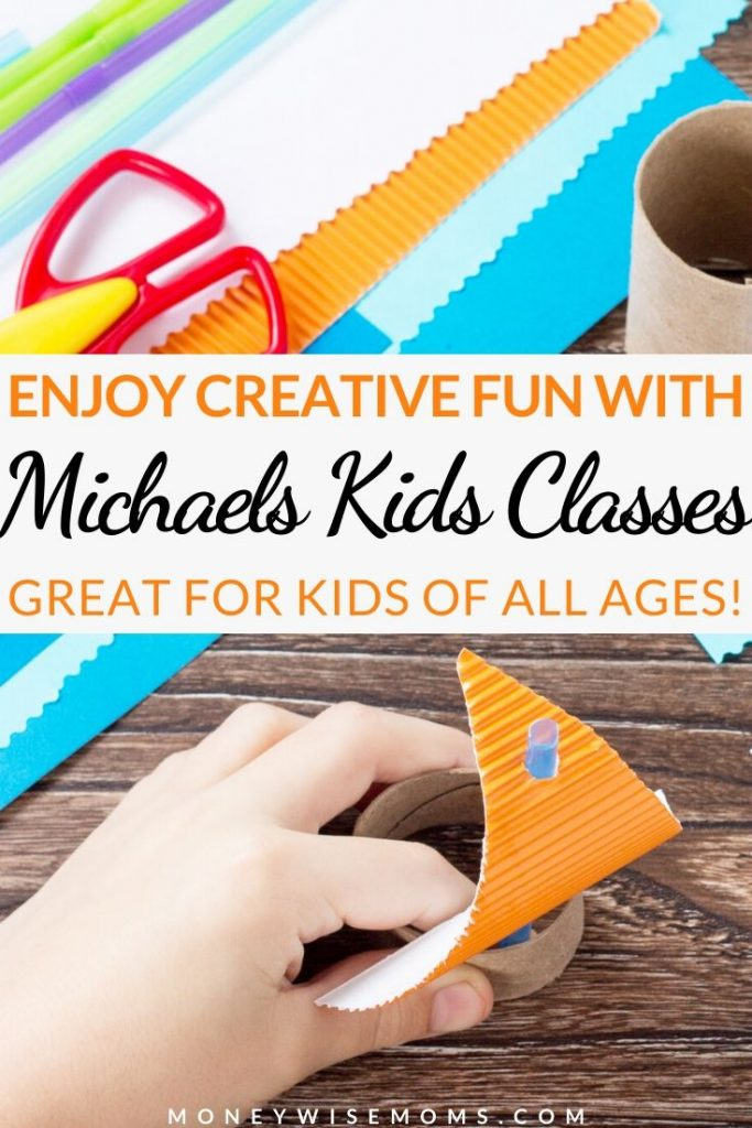 If you have crafty kids in your house you need to know about the Michaels Kids Classes! There are kids crafts and classes for kids happening every week at Micahels stores near you. You can even have a Michaels birthday party for crafting and celebrating fun in one!