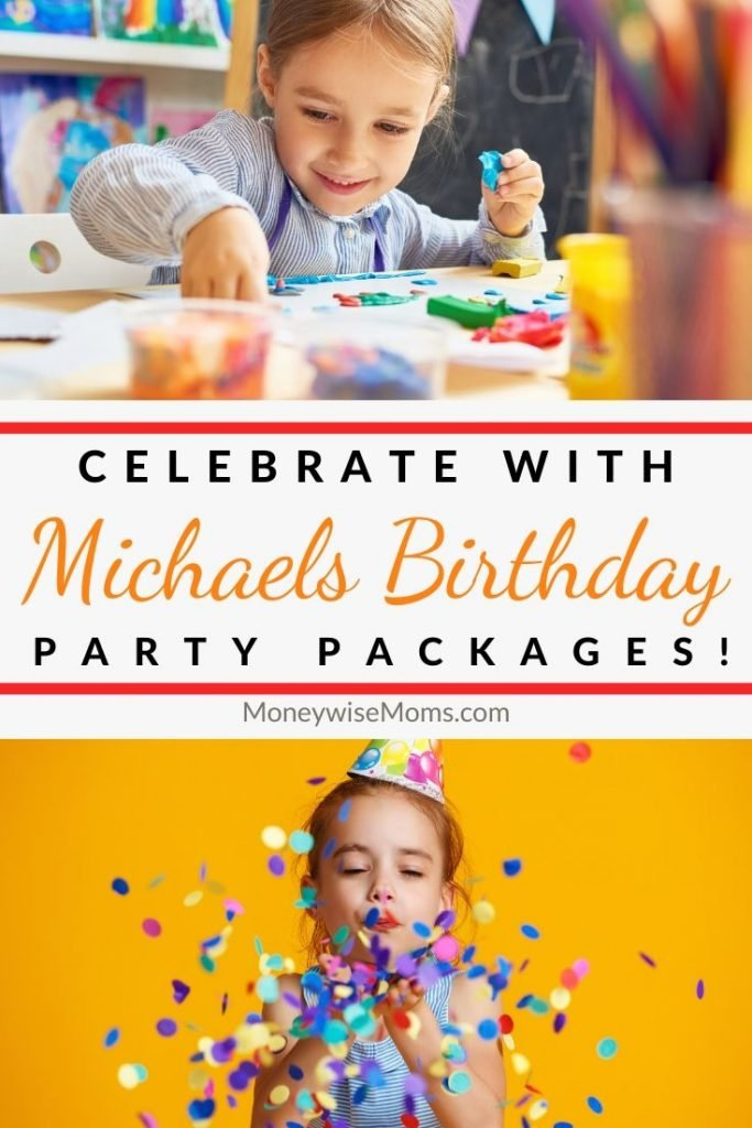 Birthday party at Michaels kids classes
