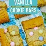 Vanilla Cookie Bars