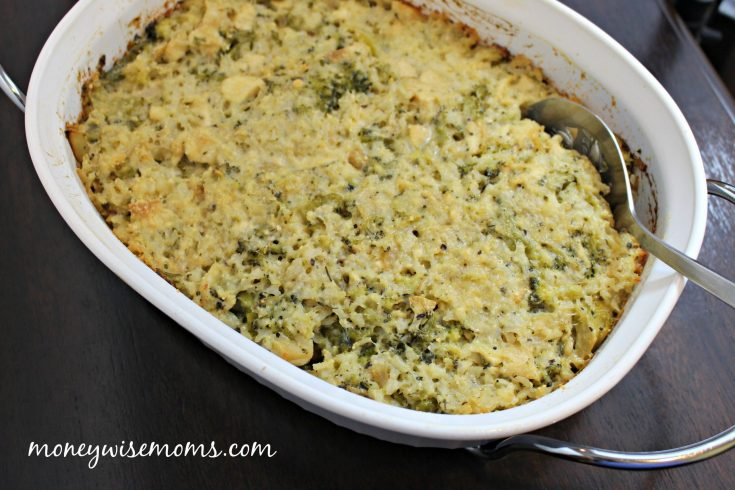 Chicken Broccoli Rice Casserole (Naturally Gluten-Free)