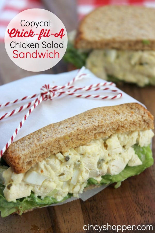 CopyCat Chick-fil-A Chicken Salad Sandwich Recipe