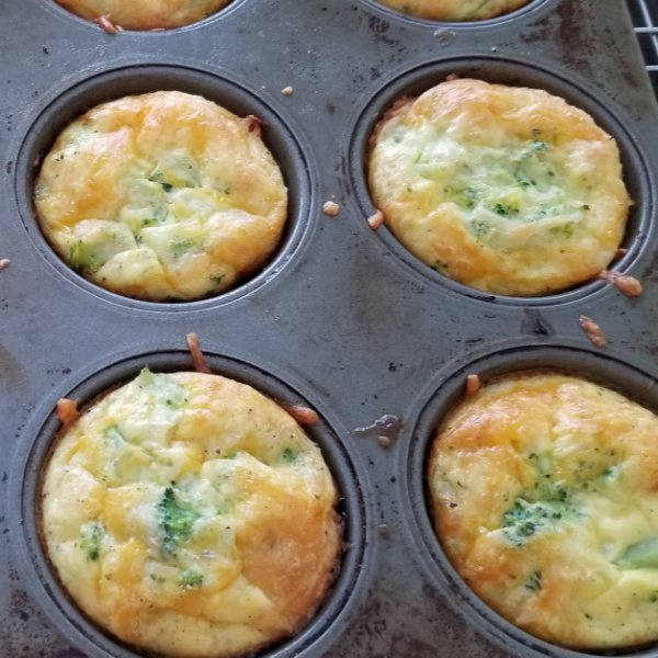 Easy healthy egg muffin cups