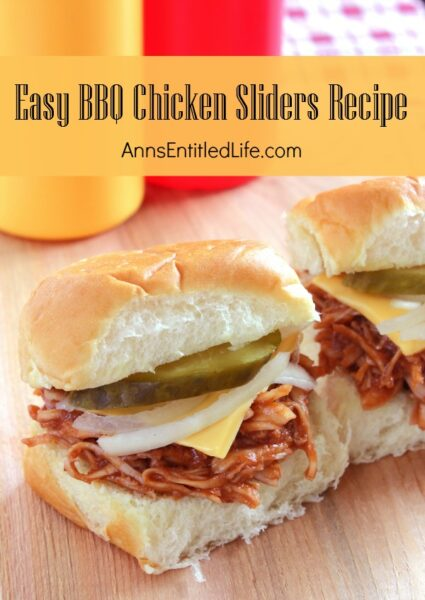 Easy BBQ Chicken Sliders Recipe