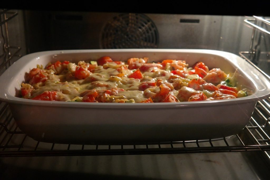 Budget casserole recipes for dinners - easy family meals - casserole baking on oven rack
