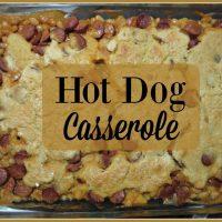 Easy Hot Dog Casserole