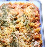 Mom's Best Classic Gluten-Free Vegan Baked Ziti (Soy-Free)