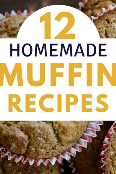 12 Homemade Muffin Recipes for Kids Snacks