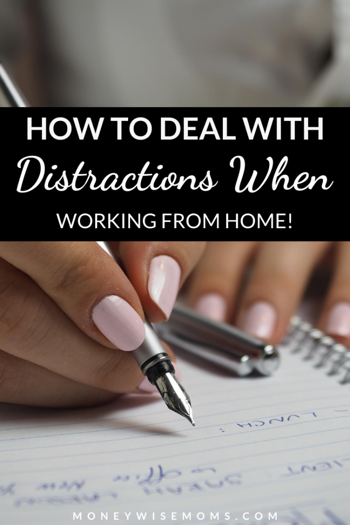 woman writing with pen in notebook - work from home tips