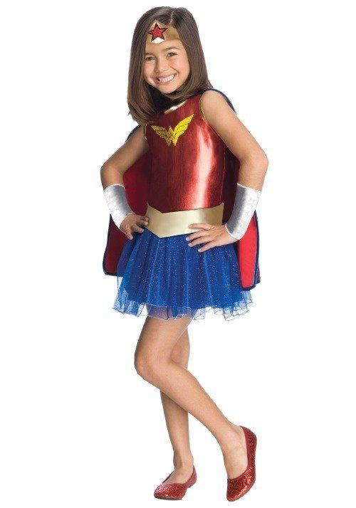 Wonder Woman Tutu Girls Costume