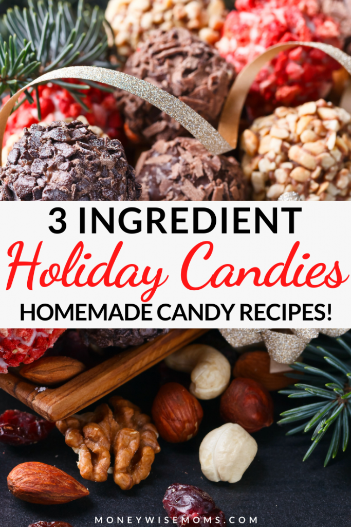 These delicious and simple holiday candy recipes for the are perfect for sharing. These are all 3 ingredient candy recipes!