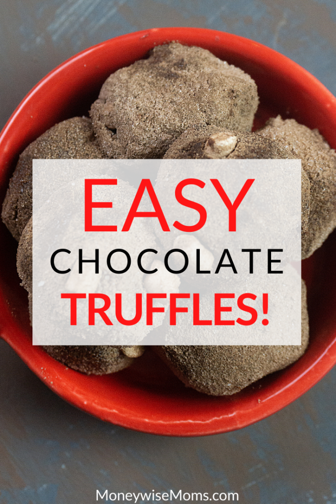 These are the best easy chocolate truffles you can make for the holidays. This simple recipe uses just 3 ingredients for a delicious treat everyone will love!